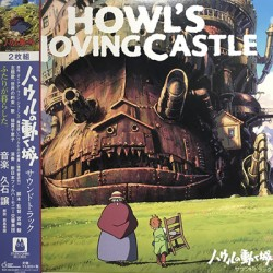HISAISHI Joe : LPx2 Howl's Moving Castle / Soundtracks