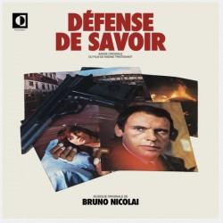 NICOLAI Bruno : LP Défense De Savoir