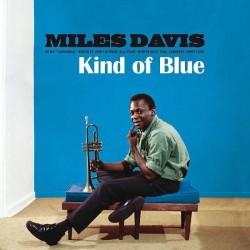 MILES DAVIS : LP Kind Of Blue (blue translucent)
