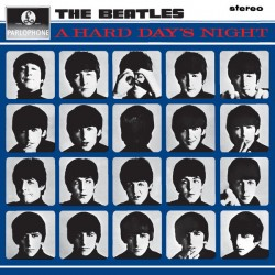 BEATLES (the) : LP A Hard Day's Night