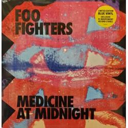 FOO FIGHTERS : LP Medicine At Midnight (blue)