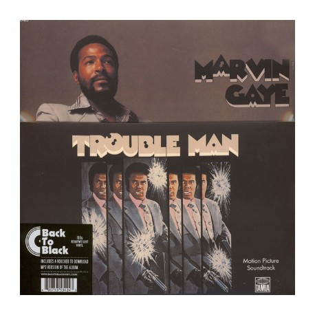 GAYE Marvin : LP Trouble Man