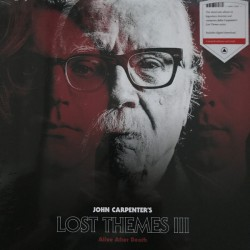 CARPENTER John : LP Lost Themes III : Alive After Death (red)