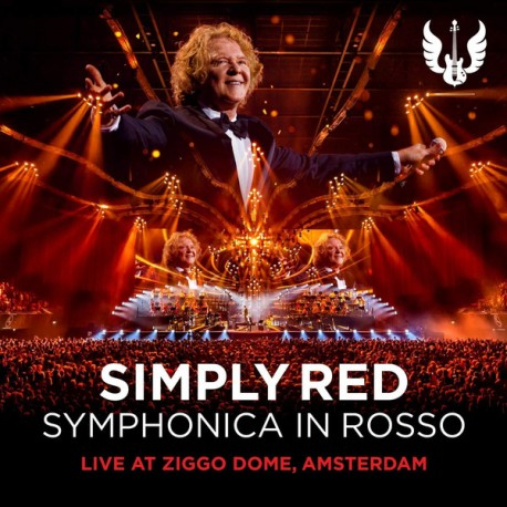 SIMPLY RED : CD+DVD Symphonica In Rosso (Live At Ziggo Dome, Amsterdam)