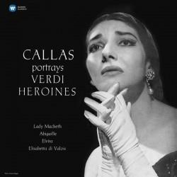 CALLAS Maria : LP Callas Portrays Verdi Heroines