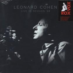 COHEN Leonard : LP Live In Session '68