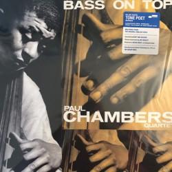 PAUL CHAMBERS QUARTET : LP Bass On Top