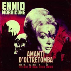 MORRICONE Ennio : LP Amanti D'Oltretomba