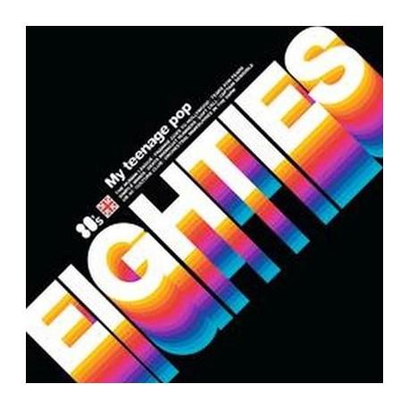 VARIOUS : LP My Teenage Pop 80'S