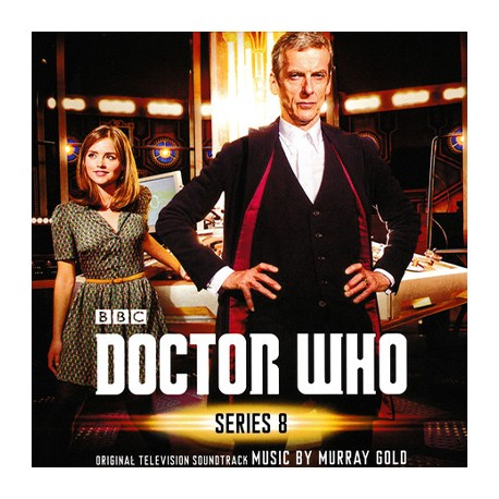 GOLD Murray : CDx3 Doctor Who - Series 8
