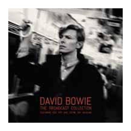 BOWIE David : LPx3 The Broadcast Collection Featuring Iggy Pop And Stevie Ray Vaughan