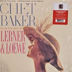 BAKER Chet : LP Plays The Best Of Lerner & Loewe
