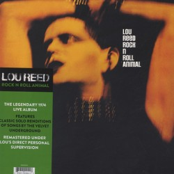 LOU REED : LP Rock 'N' Roll Animal
