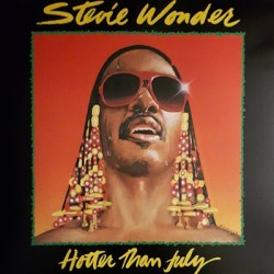 WONDER Stevie : LP Hotter Than July