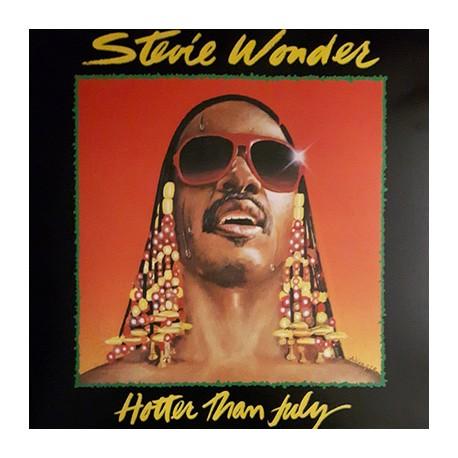 WONDER Stevie : LP Hotter Than July