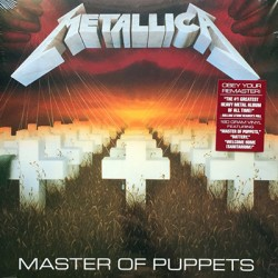 METALLICA : LP Master Of Puppets