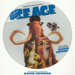 NEWMAN David : LP Picture Ice Age