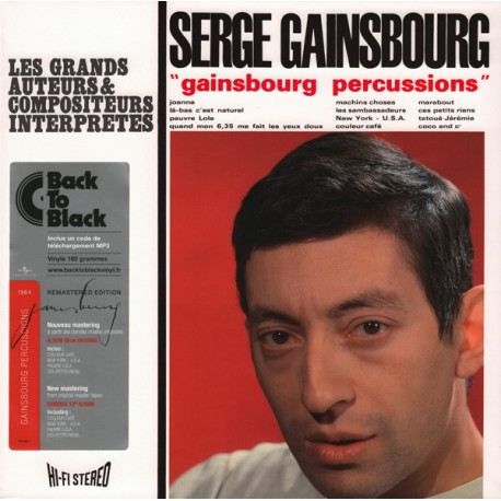 GAINSBOURG Serge : LP Gainsbourg Percussions
