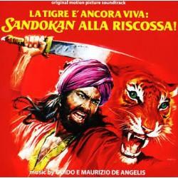 DE ANGELIS Guido & Maurizio : LP La Tigre E' Ancora Viva: Sandokan Alla Riscossa