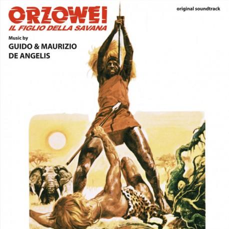 DE ANGELIS Guido & Maurizio : LP Orzowei - Il Figlio Della Savana (color)