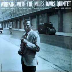 MILES DAVIS : LP Workin' With The Miles Davis Quintet