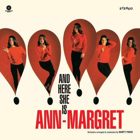 ANN-MARGRET : LP And Here She Is