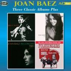BAEZ Joan : CDx2 Three Classic Albums Plus