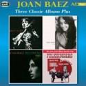 BAEZ Joan : CDx2 Three Classic Albums Plus