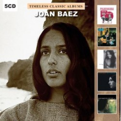 BAEZ Joan : CDx5 Timeless Classic Albums