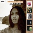 BAEZ Joan : CDx5 Timeless Classic Albums