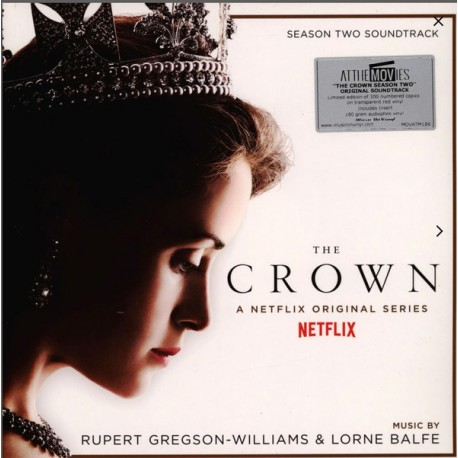 GREGSON-WILLIAMS Rupert / BALFE Lorne : LPx2 The Crown : Season Two (Soundtrack From The Netflix Original Series) - Red