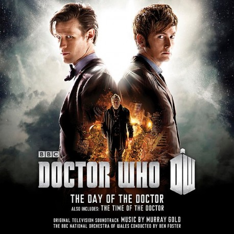GOLD Murray : CDx2 Doctor Who - The Day Of The Doctor/The Time Of The Doctor