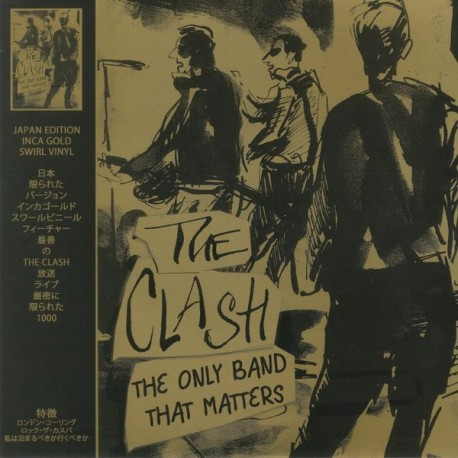 CLASH (the) : LP The Only Band That Matters (Japan Edition)