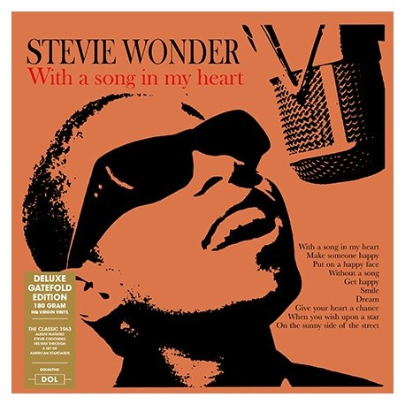 WONDER Stevie : LP With A Song In My Heart