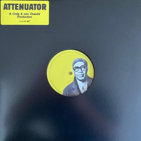 """MORITZ VON OSWALD / CRAIG Carl : 12""""EP Attenuator"""