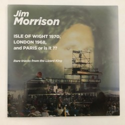 DOORS (the) / MORRISON : LP  Isle Of Wight 1970, London 1968, And Paris Or Is It ??