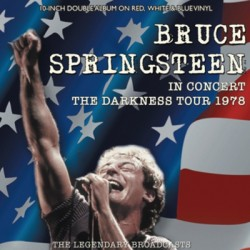 "SPRINGSTEEN Bruce: 10""LPx2 The Darkness Tour (Red White & Blue Vinyl)"