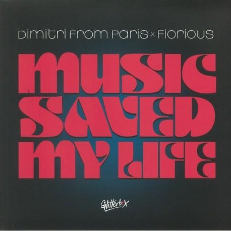 "DIMITRI FROM PARIS : 12""EP Music Saved My Life"