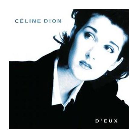 DION Celine : LP D'Eux (white)