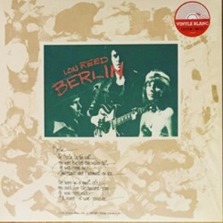 LOU REED : LP Berlin (white)