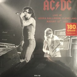 AC/DC : LP Live At Agora Ballroom, Cleveland, August 22, 1977 (color)