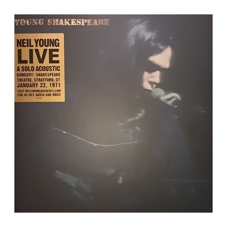 NEIL YOUNG : LP Young Shakespeare
