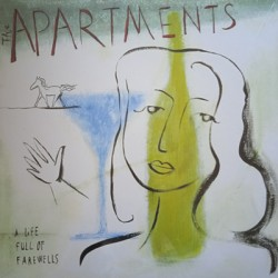 APARTMENTS (the) : LP A Life Full Of Farewells (olive)