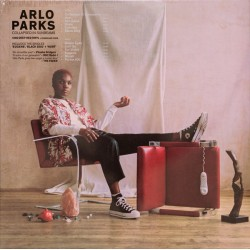 ARLO PARKS : LP Collapsed In Sunbeams (red)