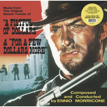 MORRICONE Ennio : LP Fistful of Dollars/For a Few Dollars More