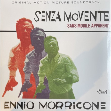 MORRICONE Ennio : LP Senza Movente