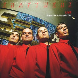 KRAFTWERK : LP Live - Paris '76 & Utrecht '81