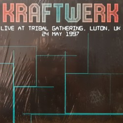 KRAFTWERK : LP Live At Tribal Gathering, Luton, UK 24 May 1997