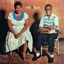 "FITZGERALD Ella & ARMSTRONG Louis : LP+7"" Ella & Louis"