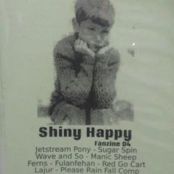 VARIOUS : CDR Please Rain Fall - Shiny Happy Fanzine 04